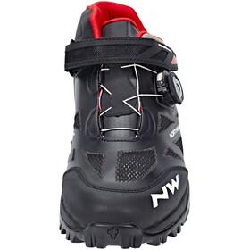 Northwave Enduro skor Herr röd/svart